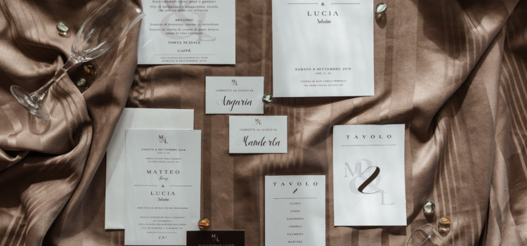 WEDDING: Stationery – Canova Suite
